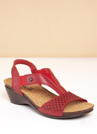 Pierre Cardin Sandalet Kırmızı